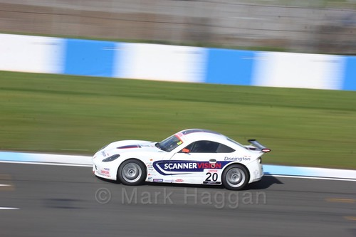 Tom Wood in Ginetta Junior Race One during the BTCC Weekend at Donington Park 2017