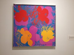 Andy Warhol Flower Silkscreen