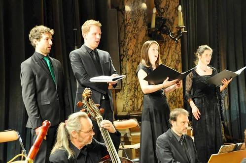 Cantates de Bach avec Akademia et Benoit Arnould, Veronika Winter et Johannes Weiss