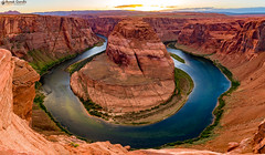 """Horseshoe Bend   So beautiful and so scary at the same time... • <a style=""""font-size:0.8em;"""" href=""""http://www.flickr.com/photos/41711332@N00/34227472452/"""" target=""""_blank"""">View on Flickr</a>"""