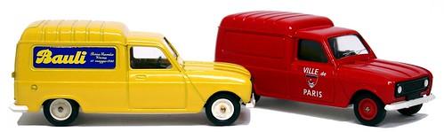 38 Solido Renault 4 van