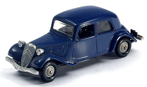 Norev Traction Avant blu