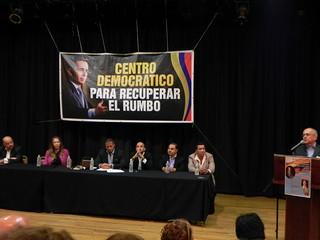 Presentación de José Obdulio Gaviria en Nueva York