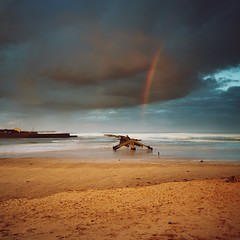 """Moray Firth Rainbow, Lossiemouth • <a style=""""font-size:0.8em;"""" href=""""http://www.flickr.com/photos/26440756@N06/33273941371/"""" target=""""_blank"""">View on Flickr</a>"""