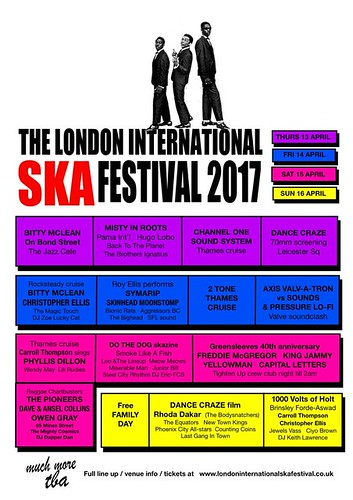 london ska festival 2017