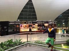 Wawan at Dubai Airport