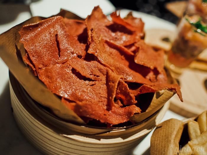 Skyve Wine Bistro Lucheon Meat Fries