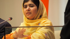 Malala Yousafzai, Youth advocate for Education...