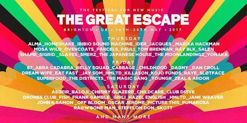 the great escape saturday 2017