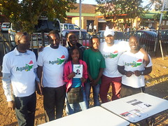 Petition signing in Tshwane