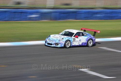 Ross Wylie in the Porsche Carrera Cup Race One during the BTCC Weekend at Donington Park 2017: Saturday, 15th April