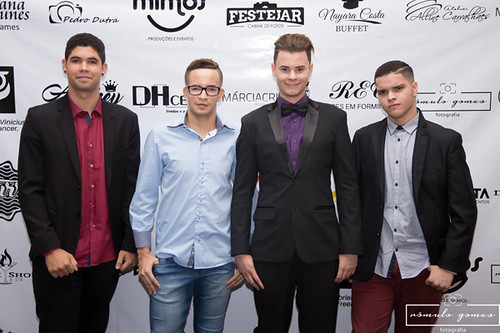 Gabriel Vinicius, Fernando Martins, Andrey Silveira e Mateus Santos