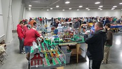 KC Brick Lab @ The Kansas City Train & Toy Show March 26th, 2017.
