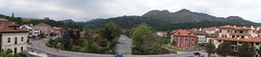 Cangas de Onis view from top of the Roman Bridge