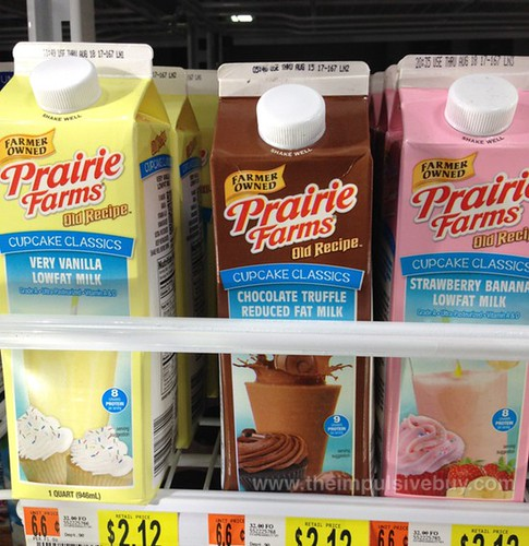 Prairie Farms Cupcake Classics (Very Vanilla, Chocolate Truffle, and Strawberry Banana)