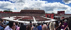 So much red #ru2014 #commencement