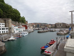 The port and marina
