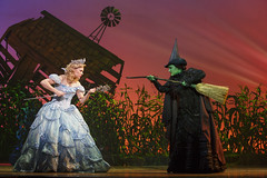 Gina Beck and Emma Hunton in the Broadway Sacramento presentation of WICKED at the Sacramento Community Center Theater May 28 - June 15, 2014. Photo by Joan Marcus.