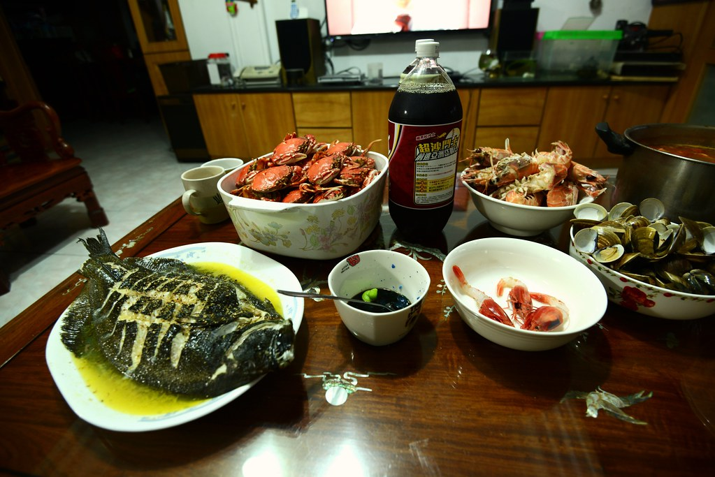 cooking seafood
