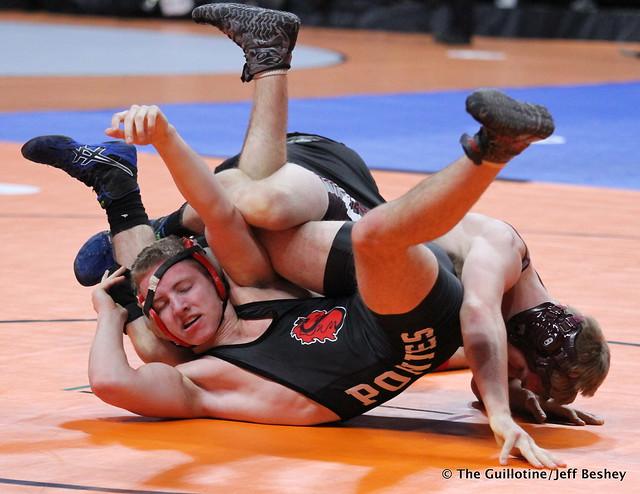 138 - Zach Fritz (Anoka) over Jared Christian (Stillwater) Fall 4:23