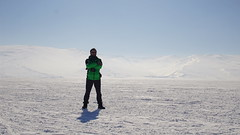 donmuş çıldır gölü