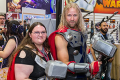 "Thor Passing on his hammer SDCC 2014 • <a style=""font-size:0.8em;"" href=""http://www.flickr.com/photos/33121778@N02/14801857333/"" target=""_blank"">View on Flickr</a>"