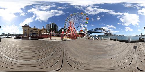 Luna Park Sydney - Panorama