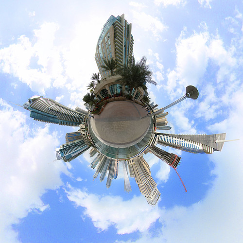 Dubai Marina Promenade - Little Planet