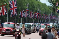 London Taxis & Union Jacks