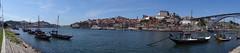 Porto and the Louis I Bridge view from Vila Nova de Gaia