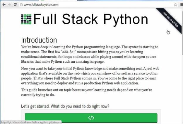 Full Stack Python