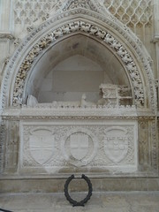 Prince Henry The Navigator's tomb in the Founder's Chapel
