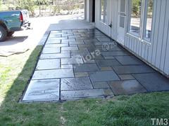 WM T.J. Mora 3, Flat work, dry laid stone construction, copyright 2014