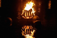 Burning Brazier (Photo by Jen Bonin)