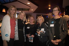 Suzanne Elsbecker, Betsy Myers, Martha Sheridan, Joan Slafsky and Amy Zinsser (Photo by Jen Bonin)