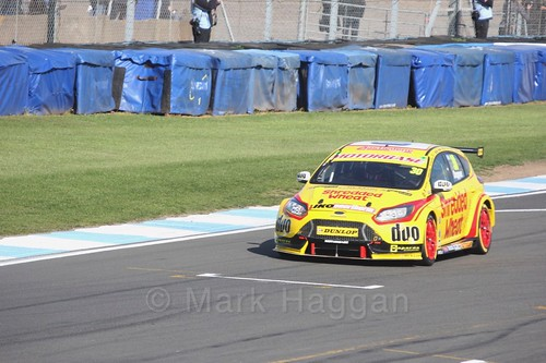 Martin Depper during qualifying during the BTCC Weekend at Donington Park 2017: Saturday, 15th April