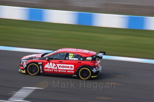 Adam Morgan during qualifying during the BTCC Weekend at Donington Park 2017: Saturday, 15th April