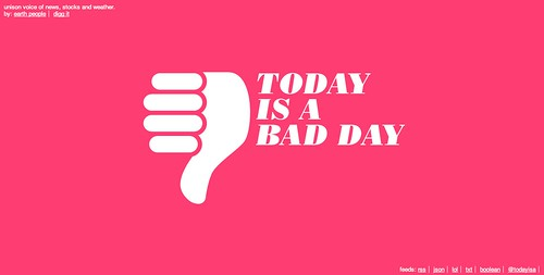 Today is a bad day