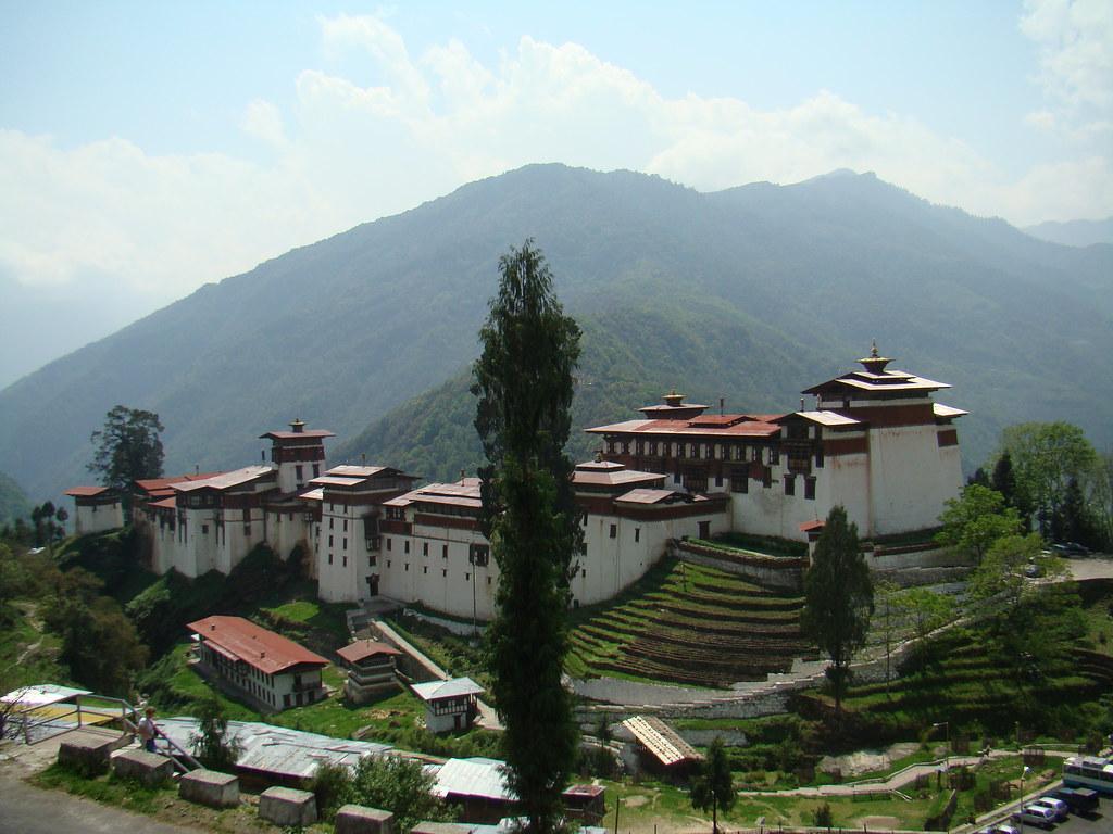Bhutan Trongsa Dzong 04