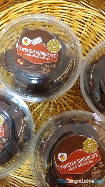 Twisted Chocolate Brownie Bites