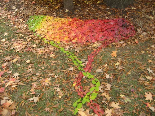 My Andy Goldsworthy rip-off