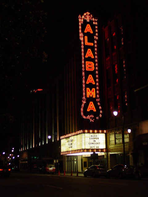 Alabama Theatre Marquee