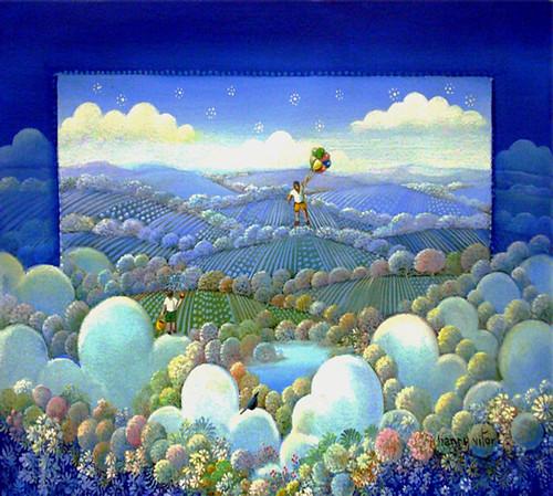 Sonho Azul 30 x 40