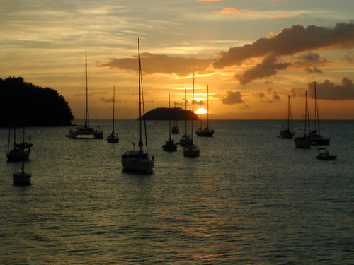 Martinique sunset
