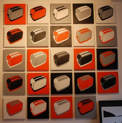 Toaster Canvas_in 24 different Colour combinations_1 x Canvas £250 or 24 x Canvas £4000