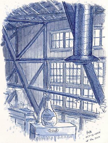 blue silo