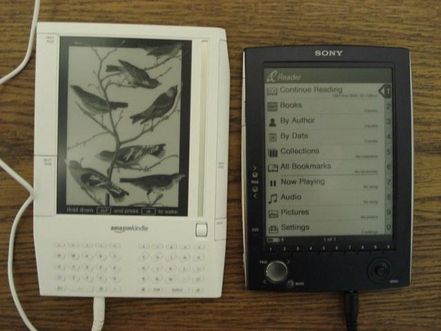 Amazon Kindle & Sony eBook