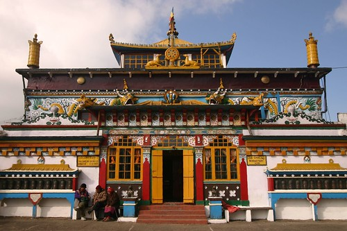 The Yigacholing Monastery at Ghum, Darjeeling
