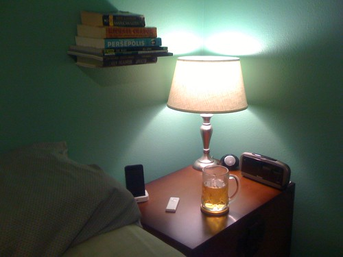 Updated Nightstand Table Pic