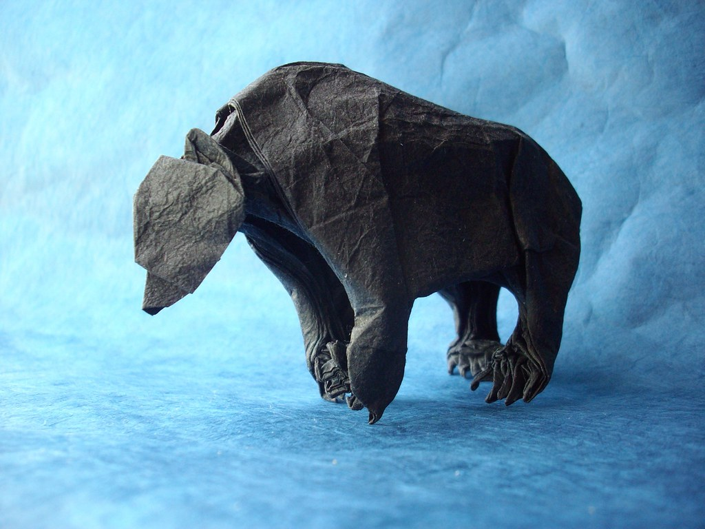 Grizzly Bear Op.2, designed and folded by me